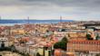 panorama di Lisbona - Portogallo - 256155909