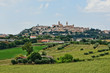 Italian landscape of the Marche region, between nature and history. - 256160965