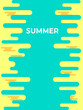 Abstract Colorful background for cover design. Illustration template summer - 256160972