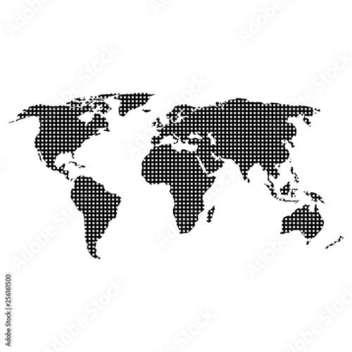 World map abstract, World Globe Map