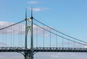 St. johns bridge in Portland © xiao