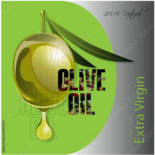 olive oil label