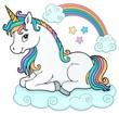 Stylized unicorn theme image 5