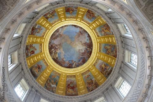 Dome of Les Invalides, Cathedral of Saint-Louis des Invalides, Paris, France