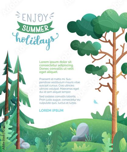 Enjoy summer holidays! - 256213745
