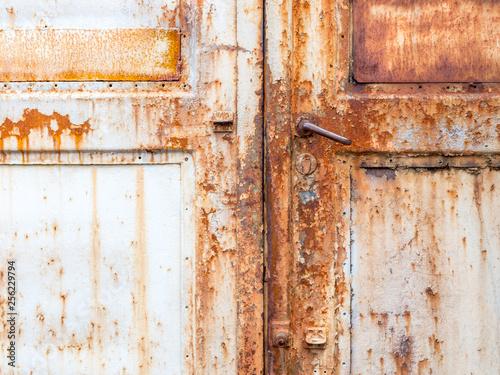 Alte verrostete Haustür © Animaflora PicsStock