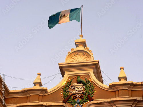 architecture,building,capital,center,central,city,constitucion,cultura,culture,de,feature,flag,guatemala,guatemalan,historic,historical,nacional,national,palace,palacio,plaza,presidential,renaissance,