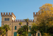 Villa La Pergolana, one of the most important historic building of Lazise, which incorporates a small monastery and a church dating back to the 16th century, Veneto, Italy