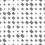 Halftone seamless abstract background with squares. Infinity geometric pattern. Vector illustration.     - 256318776