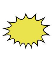 comic cartoon sprechblase denkblase rahmen umrandung kontur textrahmen text schreiben zacken cool design retro logo