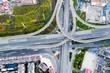 overpass closeup in kunming city