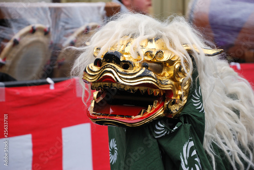 Shishimai; Lion dance in Japan © 啓治 高橋