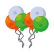 saint patricks balloons helium