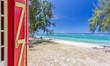 canvas print picture - Vacances sur plage de l'Hermitage, île de la Réunion