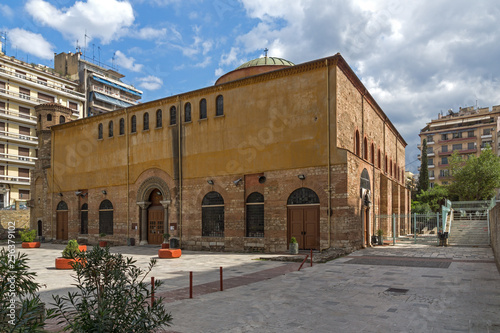 Аntique Byzantine Orthodox Hagia Sophia Cathedral in the center of city of Thessaloniki, Central Macedonia, Greece © Stoyan Haytov