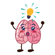 brain cartoon creativity - 256392980