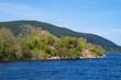 Leinwanddruck Bild - Ruine von Uruquhart, an den Ufern des Loch Ness in den schottischen Highlands