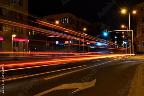 Nocna światła miasta