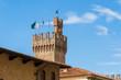 canvas print picture - Arezzo ist eine Stadt mit 100 000 Einwohnern in der mittelitalienischen Region Toskana, nordöstlich von Siena. Sie ist Hauptstadt der gleichnamigen Provinz und viertgrößte Stadt der Toskana.