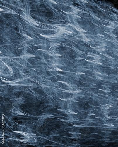 Power blue dark  abstract wallpaper modern background - 256475123