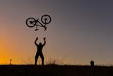 freedom of crazy biker