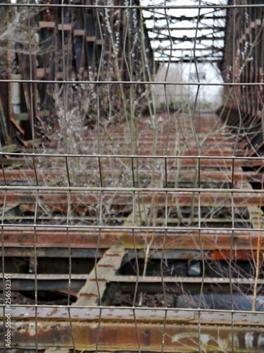 Stillgelegtes Gleis im Nordbahnhof