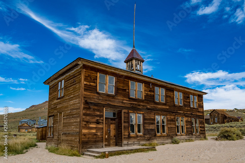 canvas print picture Ghost Town