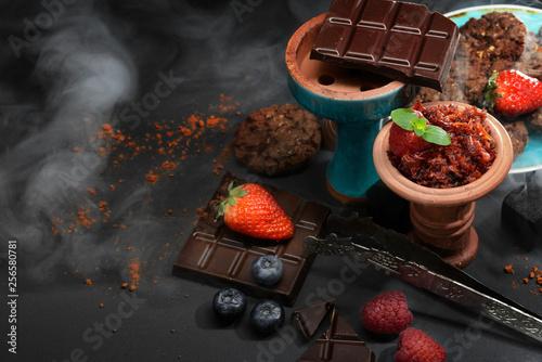 Chocolate hookah set