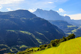 mountain in south tyrol, italy