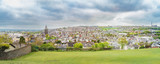Panorama of Cork city in the spring