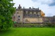 Leinwanddruck Bild - Fassade des Schlosses von Stirling im schottischen Hochland