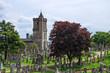 Leinwanddruck Bild - Der historische Friedhof von Stirling im schottischen Hochland