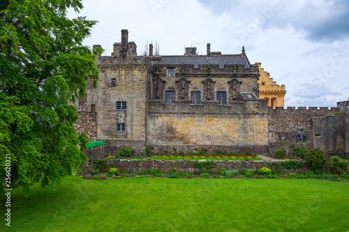 Leinwanddruck Bild Fassade des Schlosses von Stirling im schottischen Hochland
