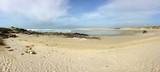en ballade sur la plage à La Torche en cornouailles  bretagne finistère