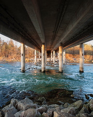under the bridge © Luka Matijevec