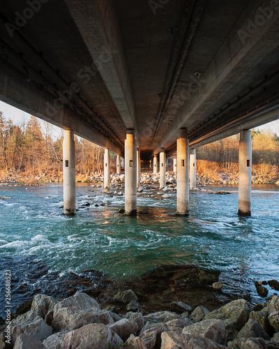 under the bridge - 256688523
