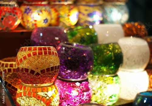 Oriental turkish lanterns © Pantherka