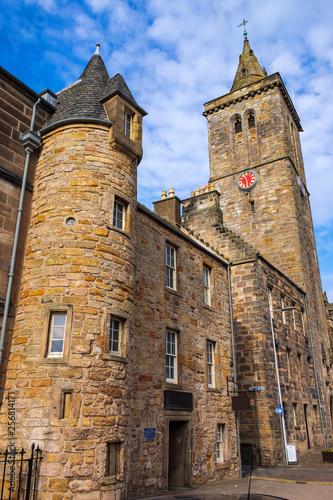 Leinwanddruck Bild St. Salvators Chapel in St. Andrews/Schottland
