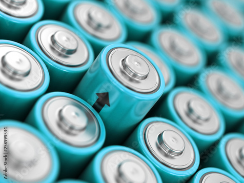 Image of Batteries background © corund