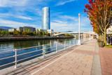 Nervion River embankment in Bilbao