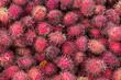 canvas print picture - Rambutan, Frucht