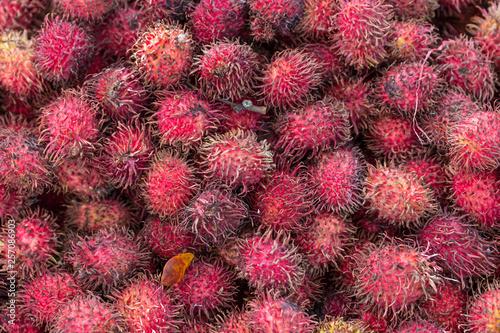 canvas print picture Rambutan, Frucht