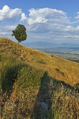 Sunset Landscape of Ograzhden Mountain, Blagoevgrad Region, Bulgaria © hdesislava
