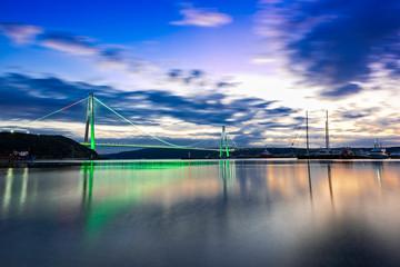 Istanbul Bosphorus Bridge at Sunset © MrPhotoMania
