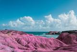 Fototapeta Space - Surrealistyczny krajobraz. Egzotyka i wakacje © monswi