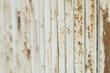 canvas print picture - Weisser rostiger Zaun