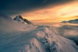 Giewont peak in the Tatra mountain.