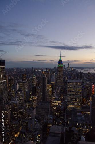 New York sunset © Alexandre Kitamura