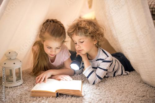 Reading fairy tales