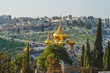 Leinwandbild Motiv Church of Mary Magdalene in Jerusalem, Israel